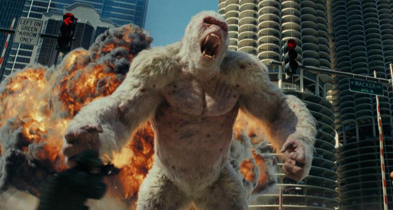ロック様ことドウェイン・ジョンソン主演の巨大怪獣パニック・アクション映画『ランペイジ 巨獣大乱闘』(原題 RAMPAGE )