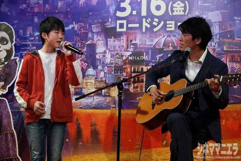 主題歌「リメンバー・ミー」を石橋陽彩が生歌唱&藤木直人が生演奏