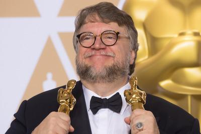 ギレルモ・デル・トロ監督、第90回アカデミー賞プレスルームにて