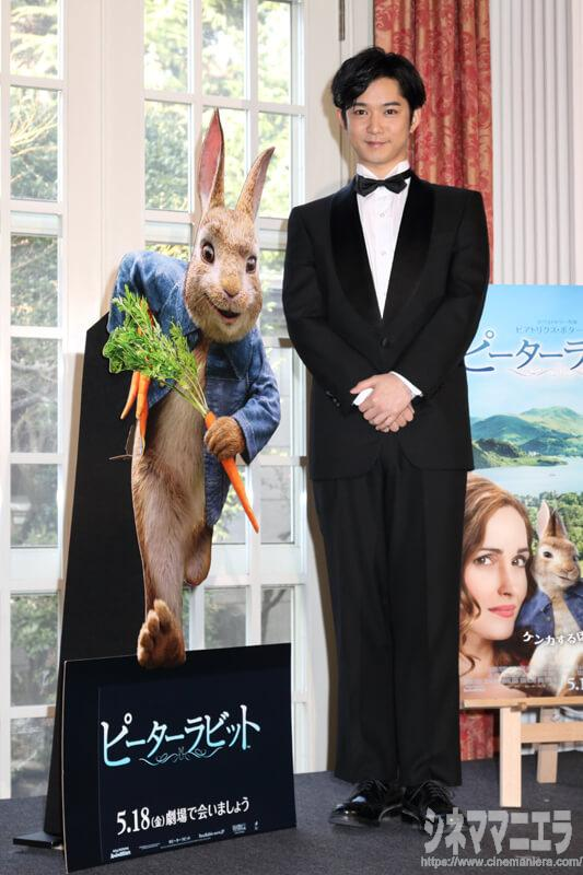 俳優の千葉雄大、正装タキシード姿でアンバサダー就任式に出席