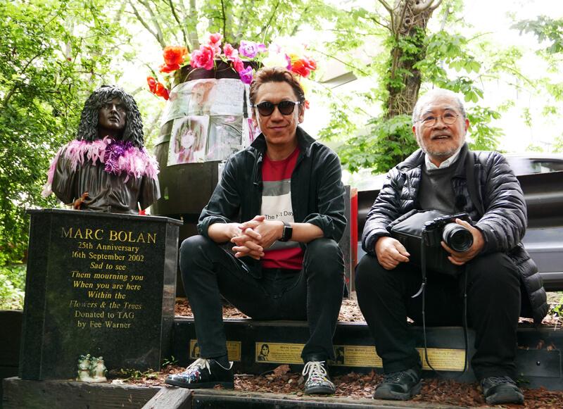 日本人写真家・鋤田正義と布袋寅泰