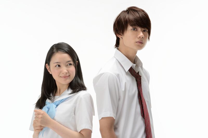 制服姿の葵わかな×佐野勇斗、映画『青夏 Ao-Natsu』より