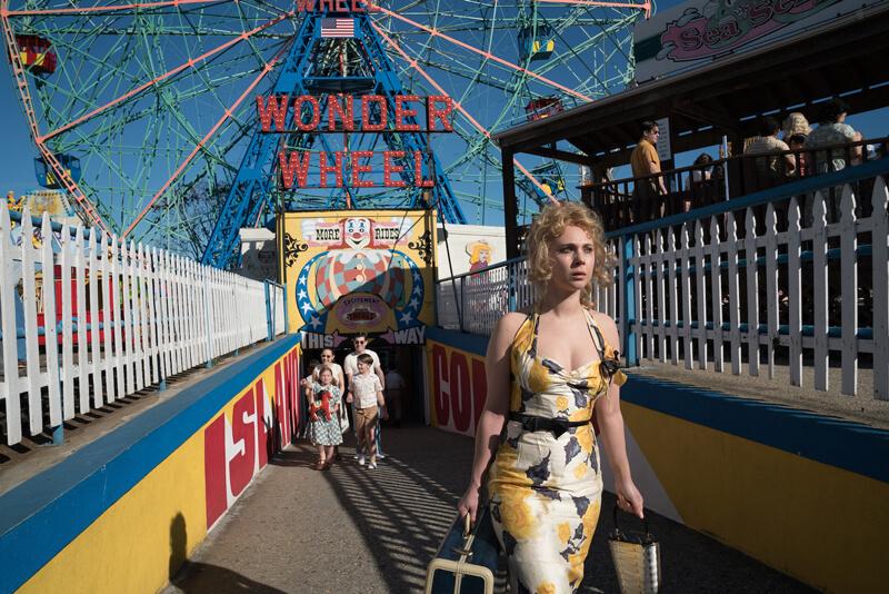 映画『女と男の観覧車』(原題 Wonder Wheel )は、1950代のコニーアイランドを舞台に描く男女の恋物語