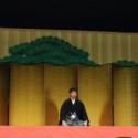 阿部寛「関係各位の賛同を得まして監督・脚本、鶴橋康夫によります映画『のみとり侍』をご披露させていただく運びとあいなります」