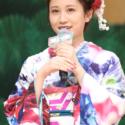 和服姿の前田敦子、映画『のみとり侍』大江戸プレミアにて