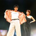山田裕貴と池田エライザ、「とな怪コレクション」ランウェイにて