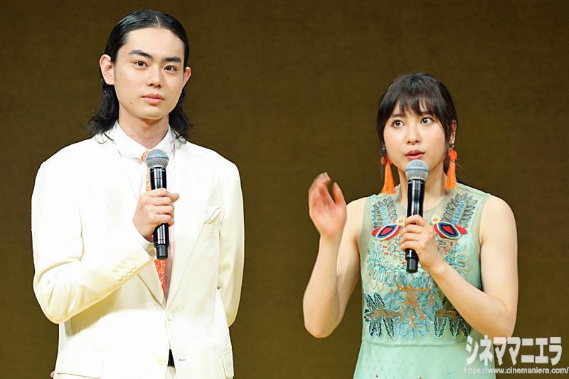 菅田と土屋、初共演の印象を語る