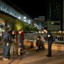 映画『アイネクライネナハトムジーク』メイキング、仙台駅前での撮影の様子