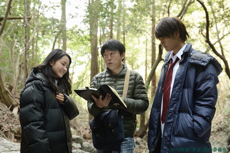 葵わかな&佐野勇斗、監督の演出をうけているオフショット