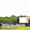 映画『羊と鋼の森』森を感じる試写会舞台挨拶@東京・新宿御苑「イギリス風景式庭園」実施前の様子