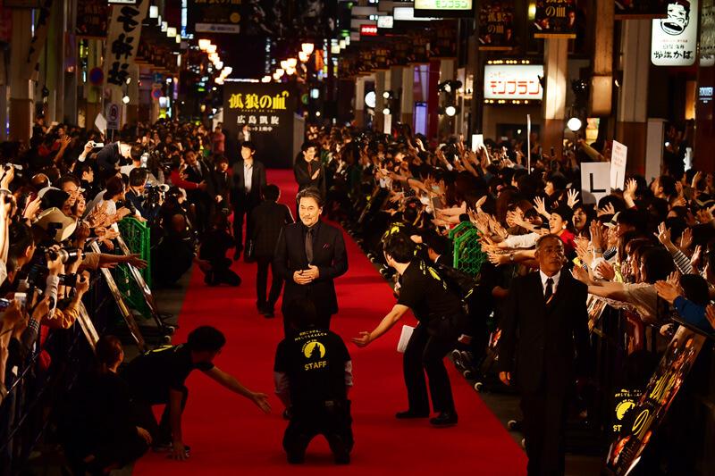 映画『孤狼の血』公開記念広島凱旋レッドカーペット