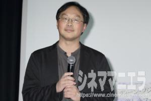 深田晃司監督、映画『海を駆ける』完成披露上映会舞台挨拶