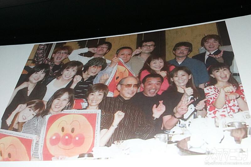 中尾隆聖 提供「アンパンマン15周年の祝いの写真」