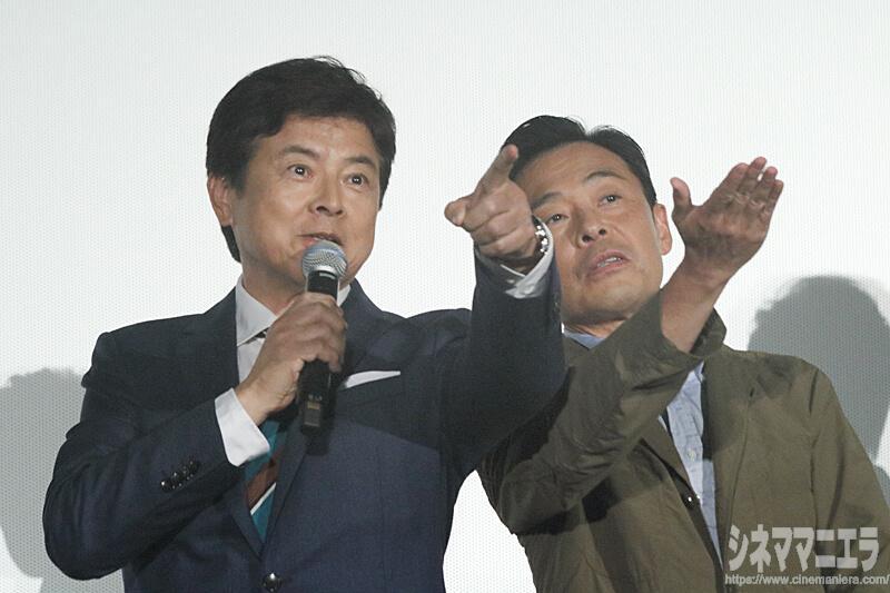 三浦友和(会場を見渡すと観客の応援ボードやうちわについて)「賢人」「賢人」の中に一つだけ「友和」があって、すごく心強い!すごく嬉しいです