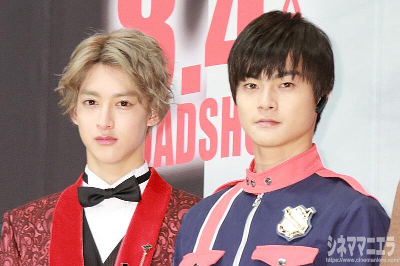 左から伊藤あさひ、結木滉星