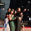 佐藤健による自撮りの様子、映画『億男』完成披露試写会にて
