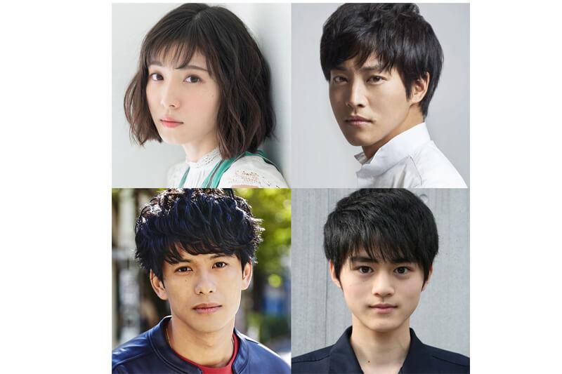 左上から松岡茉優、松坂桃李、森崎ウィン、鈴鹿央士