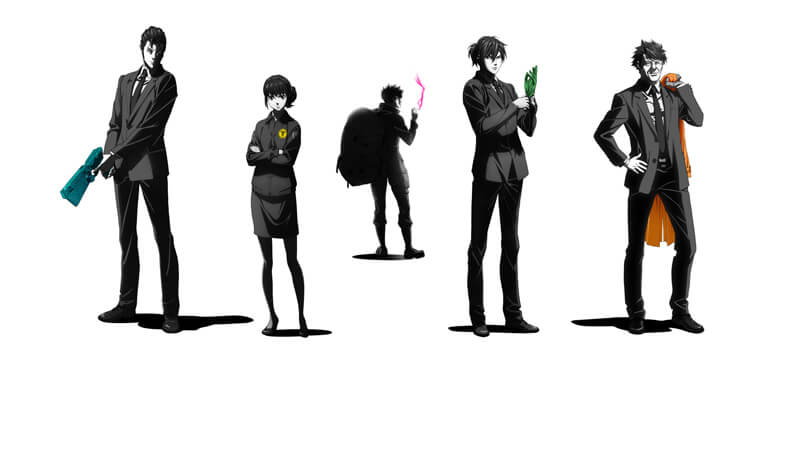 PSYCHO-PASS サイコパス Sinners of the System「罪と罰」「First Guardian」「恩讐の彼方に__」