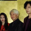 左から二階堂ふみ、手塚眞監督、稲垣吾郎