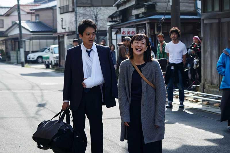 映画『宮本から君へ』メイキング写真