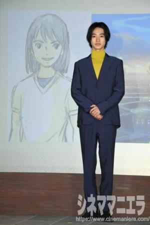 映画『二ノ国』製作発表会見にて