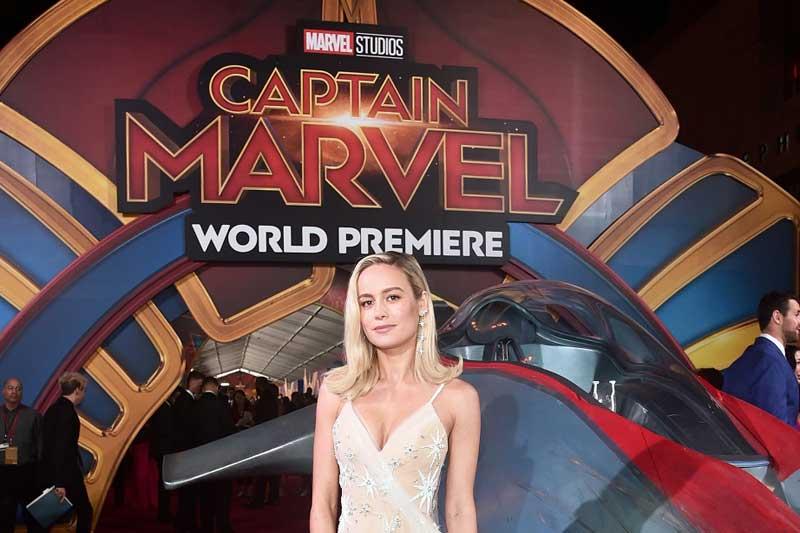 映画『キャプテン・マーベル』(原題 Captain Marvel )のワールドプレミア
