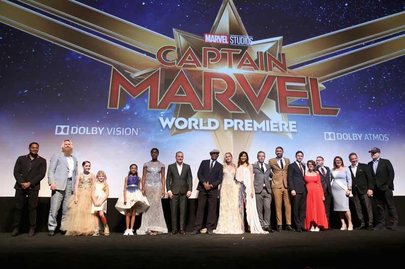 映画『キャプテン・マーベル』(原題 Captain Marvel )のワールドプレミアがロサンゼルスで開催された