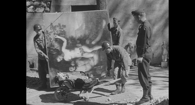 映画『ヒトラーVS.ピカソ 奪われた名画のゆくえ』(クロックワークス、アルバトロス・フィルム 配給)