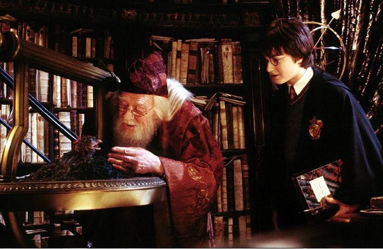 リチャード・ハリス『ハリー・ポッターと秘密の部屋』より