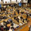 福島県内の避難所を再現、映画『Fukushima 50』より