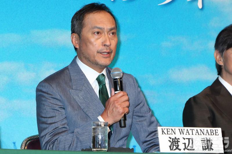 渡辺謙「佐藤浩市と非常に高いハードルを越えたい」