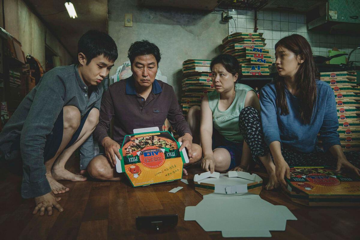 映画『パラサイト 半地下の家族』場面写真