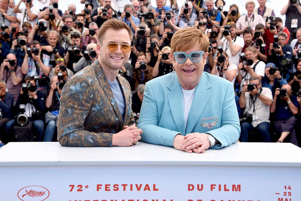 映画『ロケットマン』カンヌ国際映画祭フォトコール