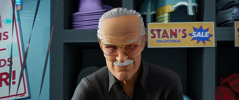 スタン・リーの登場シーン、Stan's Merch Shopのオーナー