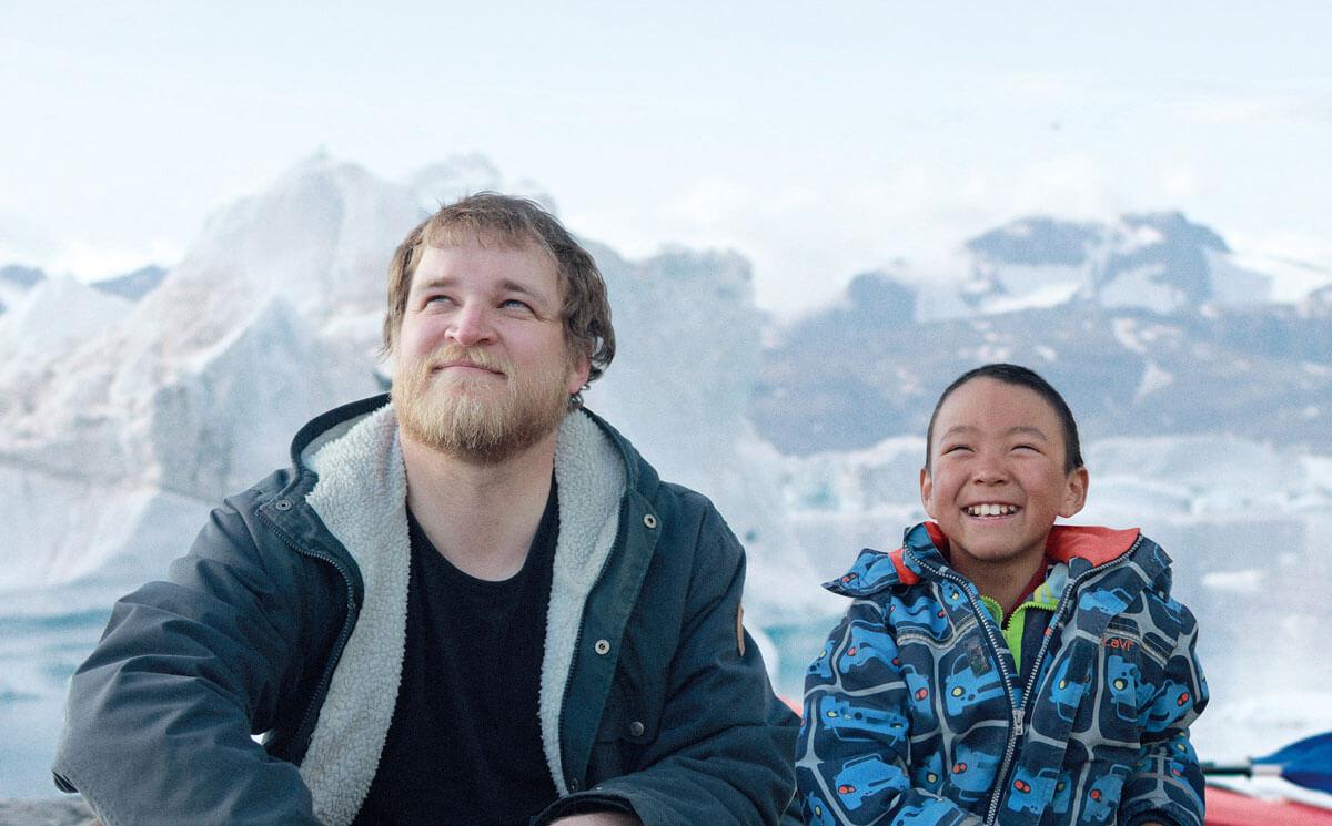 映画『北の果ての小さな村で』(原題 Une année polaire )