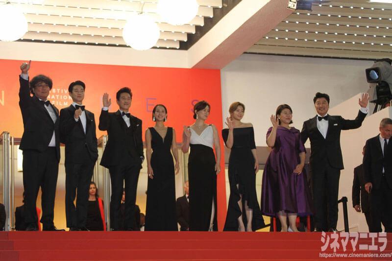 韓国映画『PARASITE /パラサイト(英題)』レッドカーペット