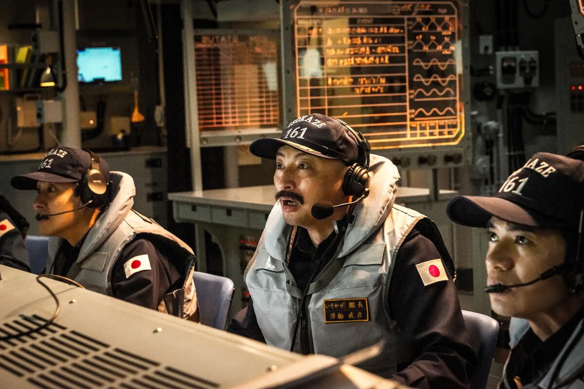 護衛艦いそかぜ浮船武彦艦長