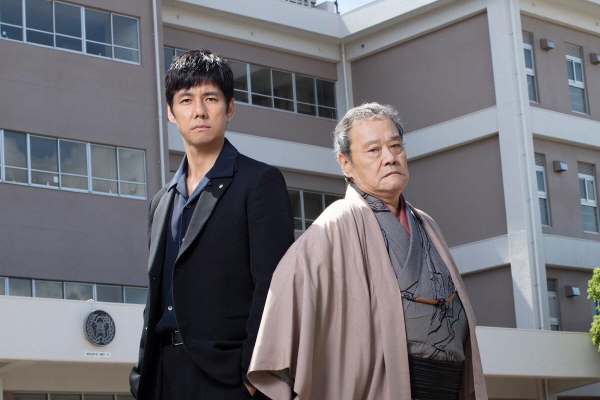 西島秀俊×西田敏行W主演『任俠学園』は人情コメディ映画