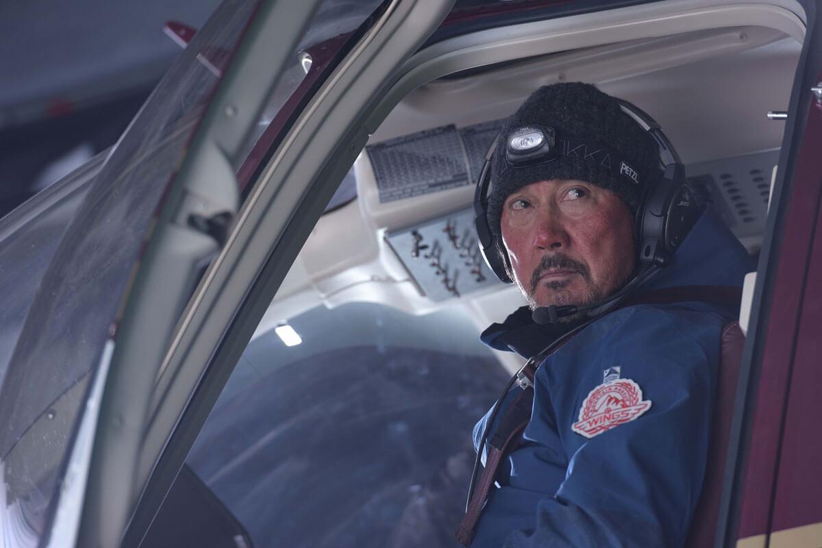 Wings 隊長・姜(役所広司)
