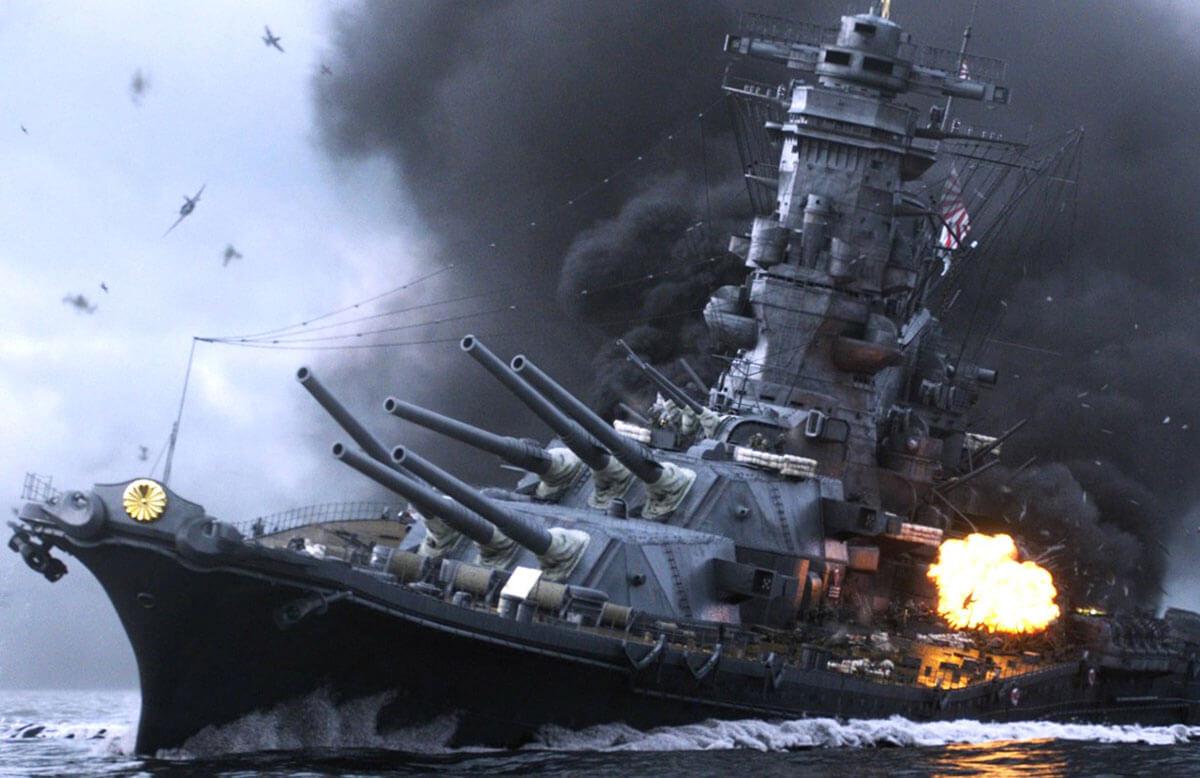 戦艦大和、映画『アルキメデスの大戦』より