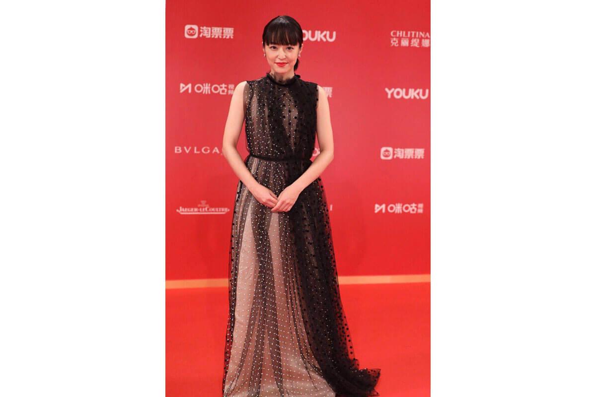 井上真央、上海国際映画祭2019レッドカーペットにて