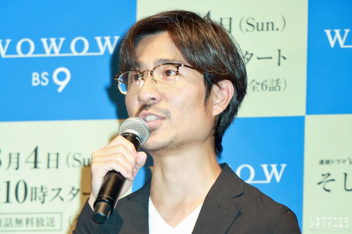 月川翔監督、WOWOW「連続ドラマW そして、生きる」完成披露試写会舞台挨拶