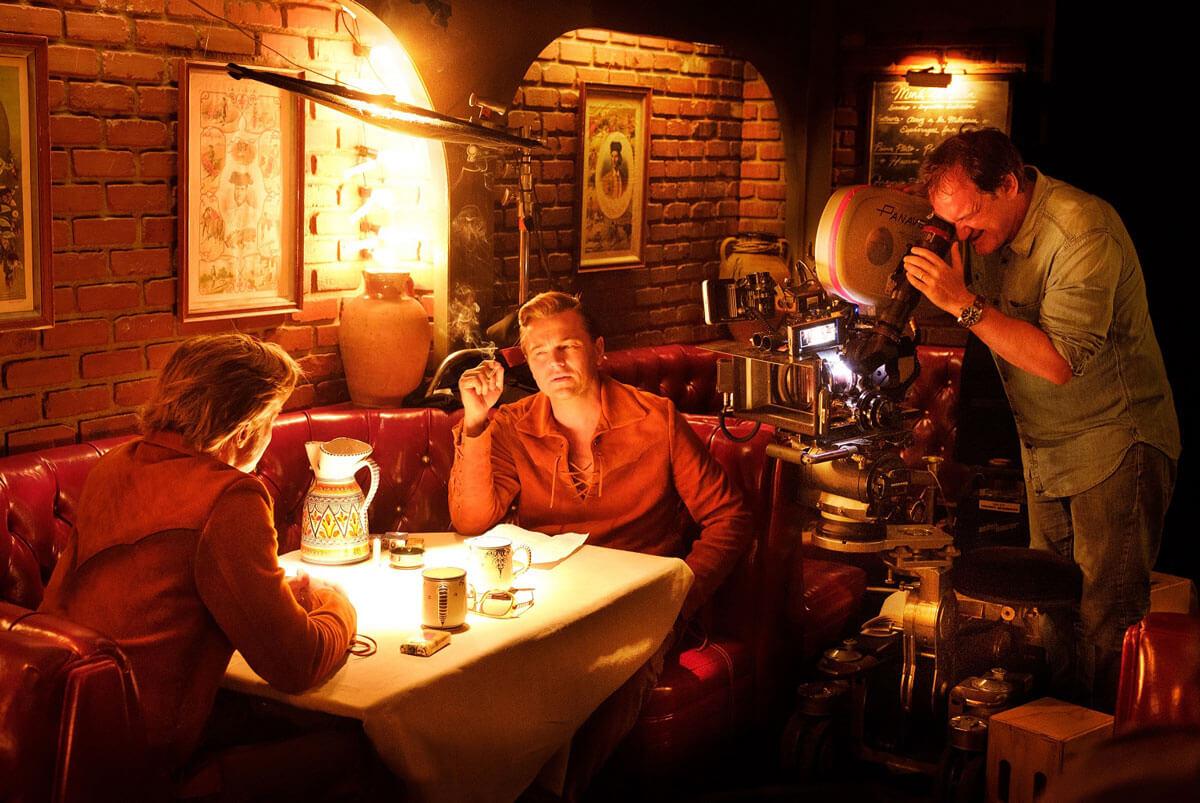 映画『ワンス・アポン・ア・タイム・イン・ハリウッド』メイキング写真
