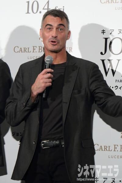 チャド・スタエルスキ監督、映画『ジョン・ウィック:パラベラム』ジャパンプレミア