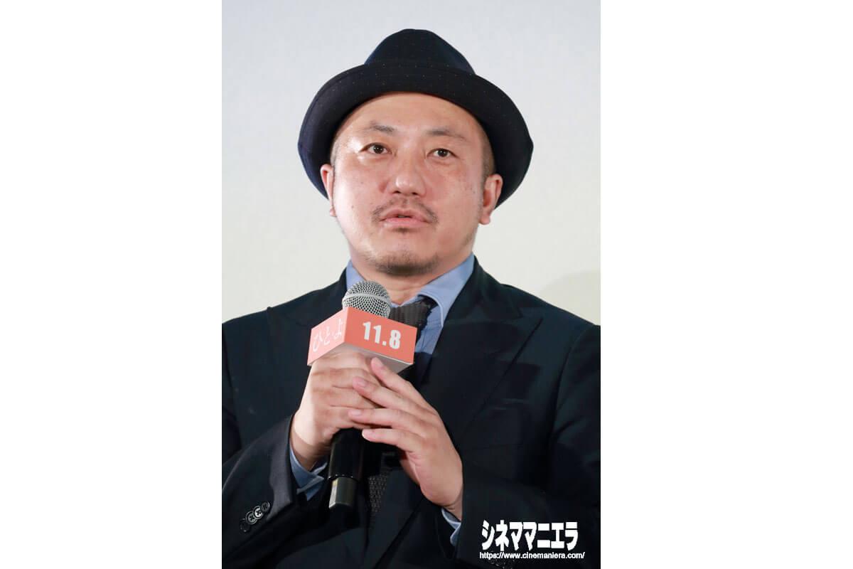 白石和彌監督、映画『ひとよ』ジャパンプレミアにて