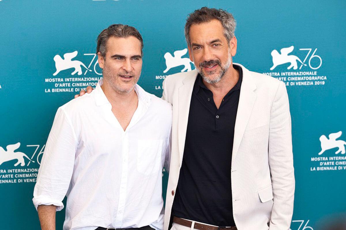 ホアキン・フェニックスとトッド・フィリップス監督、第76回ヴェネツィア国際映画祭にて