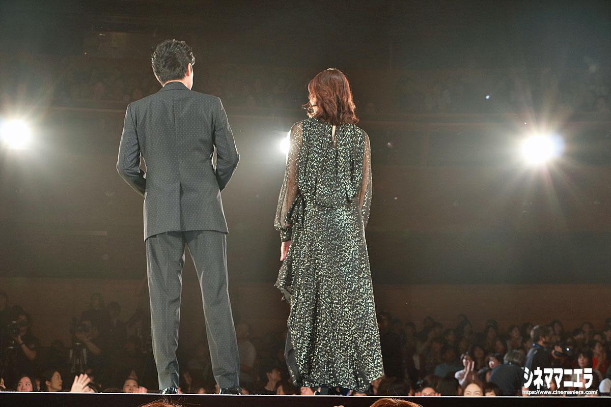 福山と石田、センターステージにて