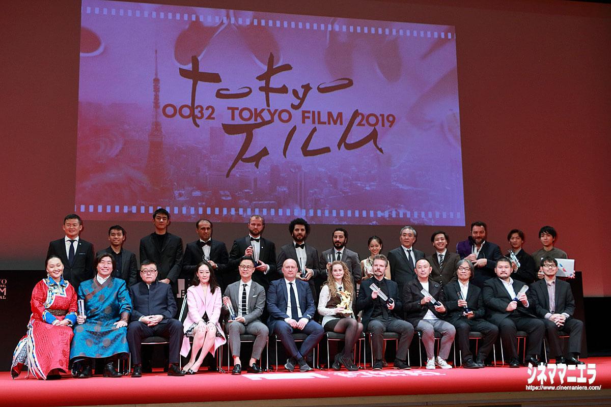 第32回東京国際映画祭受賞者の皆さん