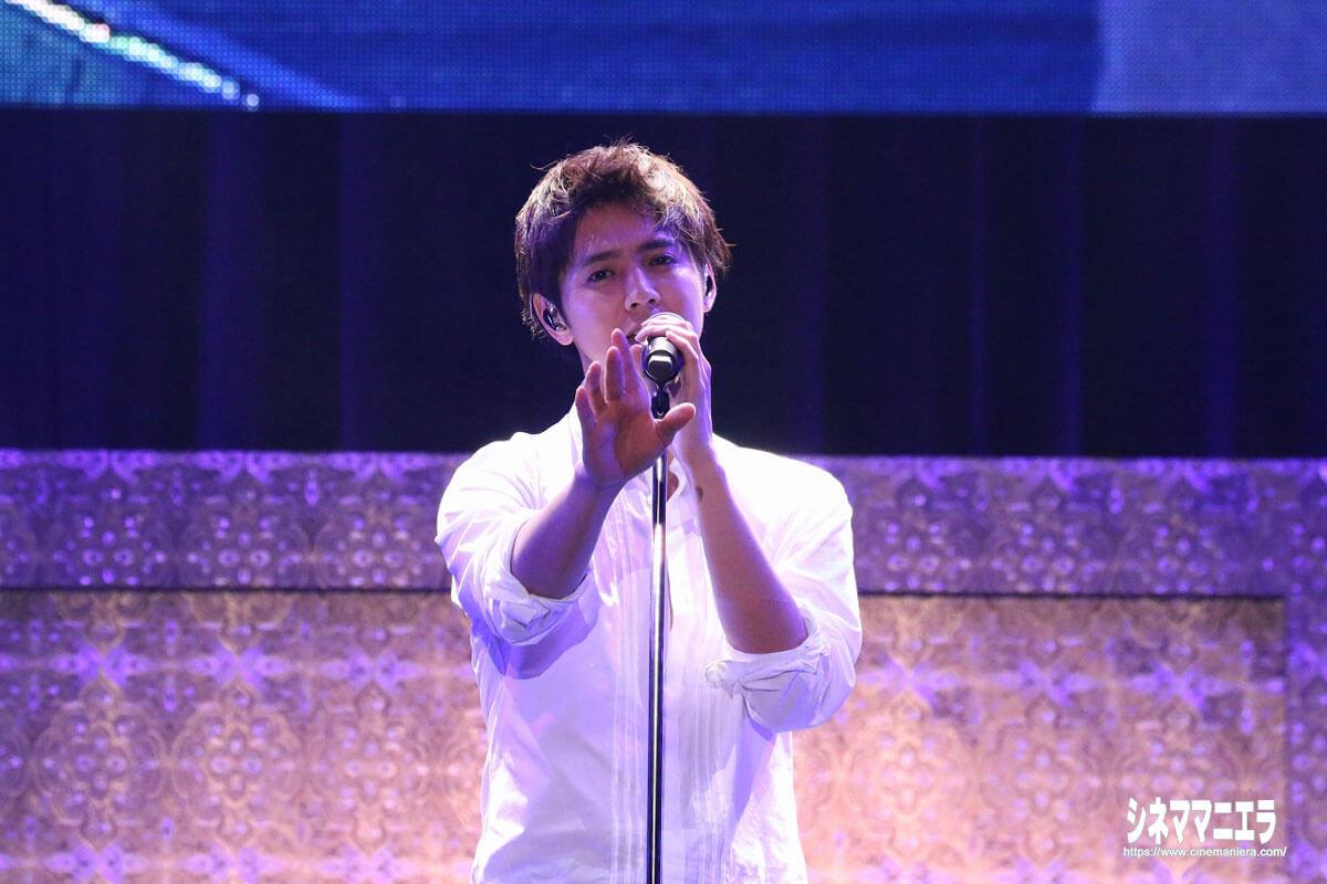 片寄涼太(GENERATIONS from EXILE TRIBE)、ソロ楽曲「Possible」を生歌唱!