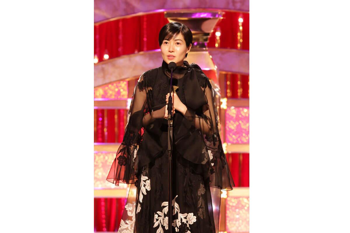 シム・ウンギョン、第43回日本アカデミー賞授賞式にて